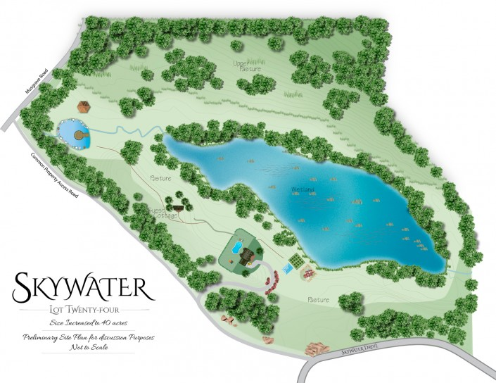 "Lot Twenty-Four - ""Artistic Concept"" - Skywater Acres"