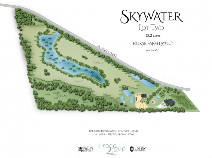 "Lot Two - ""Artistic Concept"" - Skywater Acres"