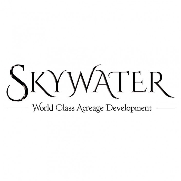 Skywater Acres Logo, Salt Spring Island, BC