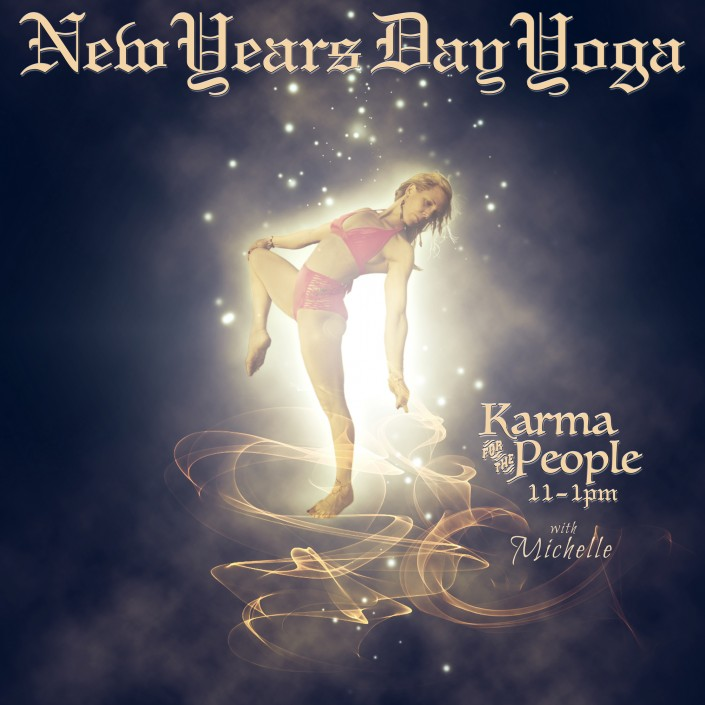 New Years Day Yoga, The Body Art Barn