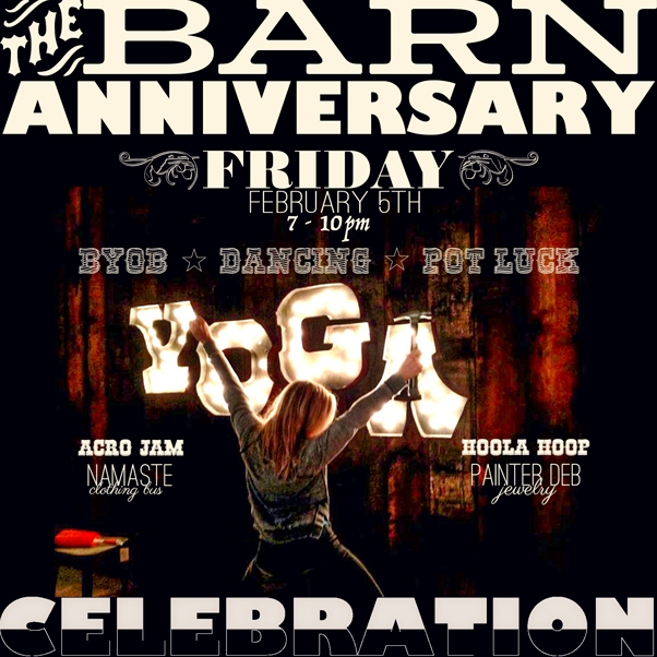 The Barn Anniversary Party